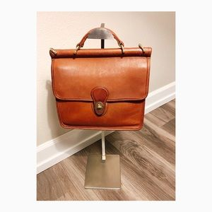 Coach Vintage Willis Bag messenger leather brown